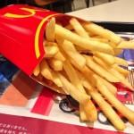 マクドナルドのポテトはカロリーに注意して食べよう!(S・M・L)