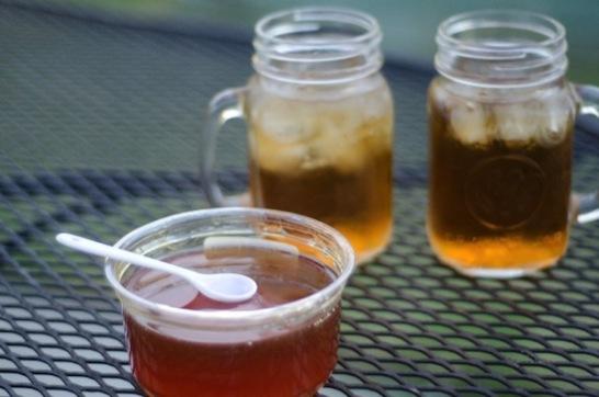 ゆず茶作り方はちみつ02