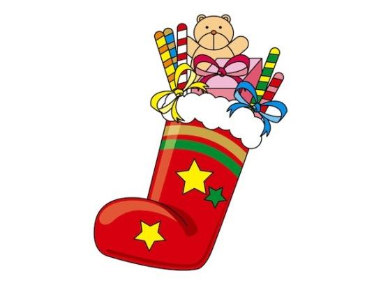 クリスマスブーツお菓子子供01