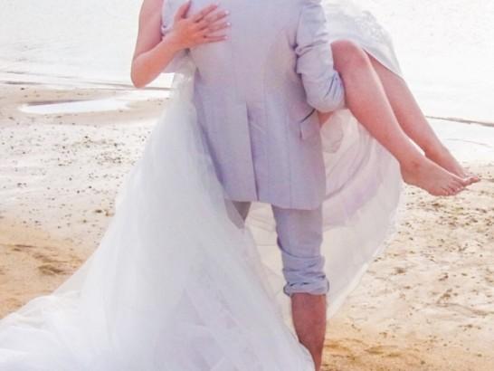 ハワイ二人だけ結婚式ウエディング挙式02