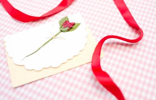結婚式招待状手作り方法費用文例01