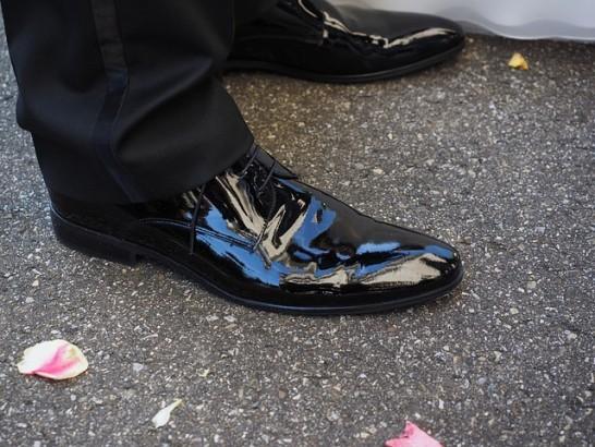 革靴磨き方鏡面ハイシャイン靴磨き方法01